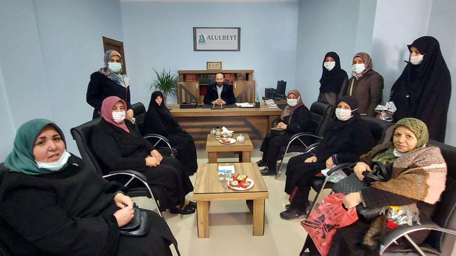 Bilge Kadın Derneğinden Alulbeyt Iğdır Şubesine Ziyaret