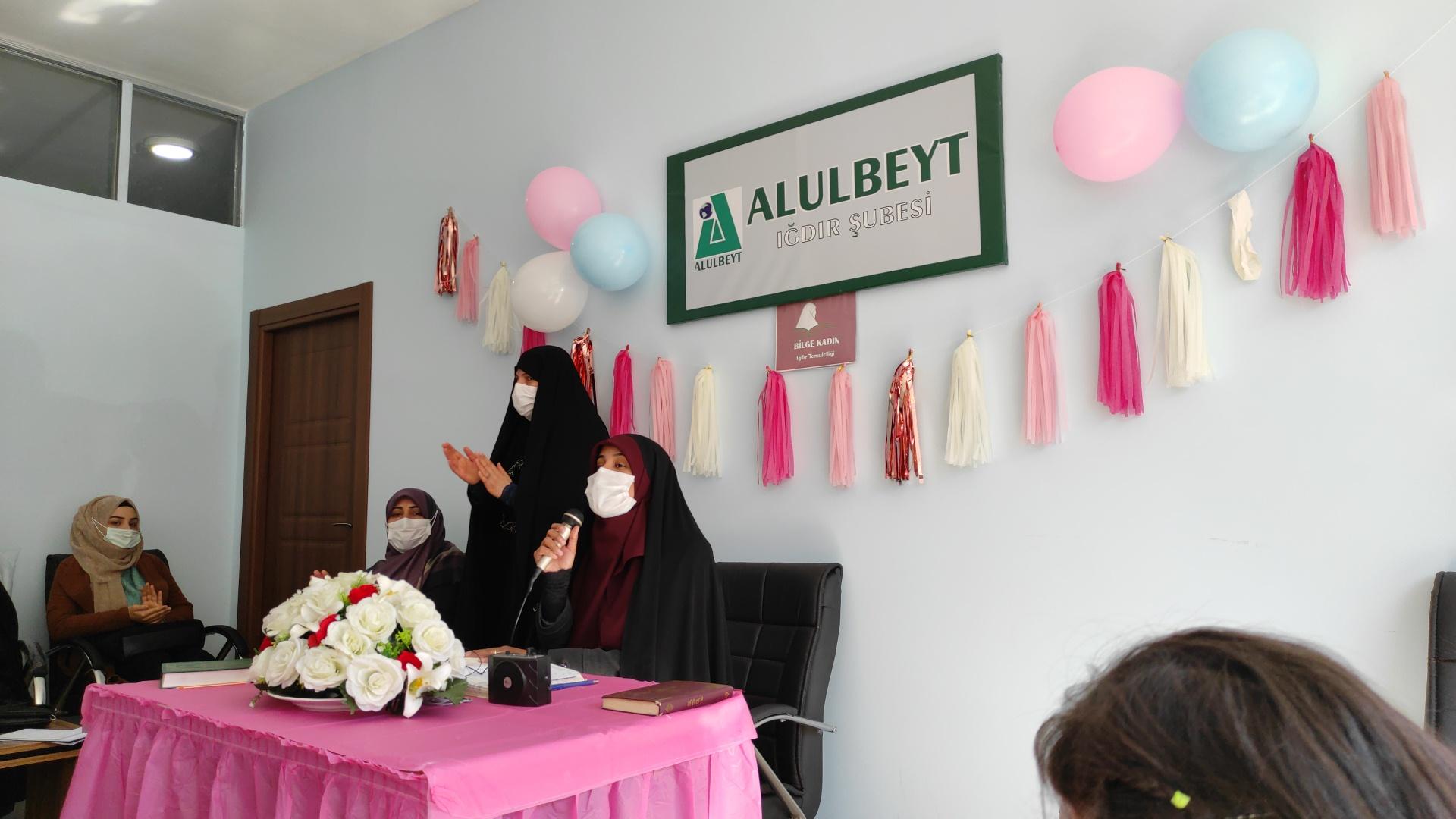 Bilge Kadın Iğdır Şubesi'nden Biset Kutlaması ve Açılış Programı
